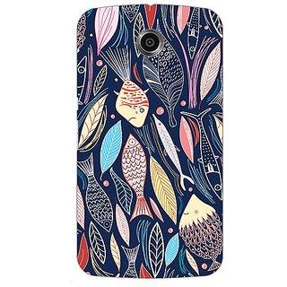 Garmor Designer Silicone Back Cover For Motorola Nexus 6 38109437045