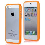 Silicon Bumper Case For Apple Iphone 5 Orange