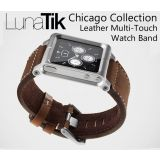 Lunatik Chicago Collection Multi-Touch Watch Band Case For Ipod Nano 6Th Gen Brown With Free Screen Guard.