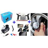 300 Psi Air Compressor  Tyre Guage  Puncture Kit