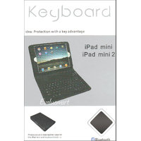 Wireless Bluetooth Keyboard With Leatherite Case & Stand For Apple IPad Mini
