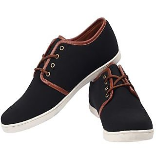 Harry Hill Stacks Casuals Shoes (H6078BLK)
