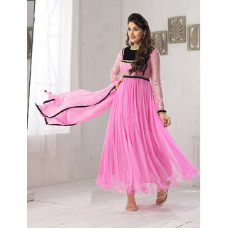 Thankar Fabulous Latest Designer Pink Anarkali Suits