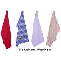 Shop 24x7-Kitchen Napkins (set Of 4)- Design-2