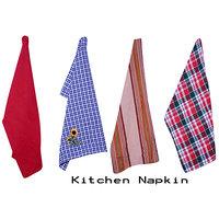 Shop 24x7-Kitchen Napkins (set Of 4)- Design-3