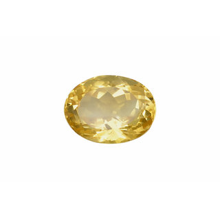 JAIPUR GEMSTONE 6.00 Ratti Sapphire-Yellow