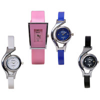 Glory Multi Designer Pack Of 4 Analog Watches For Women