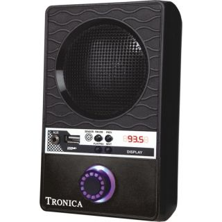 Tronica-BLACK-NOMAD-MP3/FM/MOBILE-SPEAKER-WITH-RECHARGEABLE-BATTERY