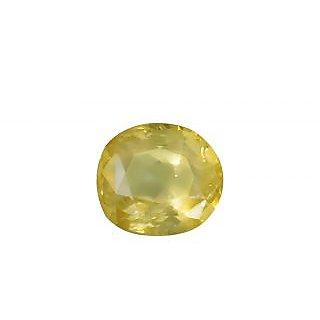 Jaipur Gemstone 4.25 Ratti Certified Yellow Sapphire (NEHA00021)