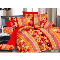Home Castle 154-TC Cotton Premium Double Bedsheet With 2 Pillow Covers