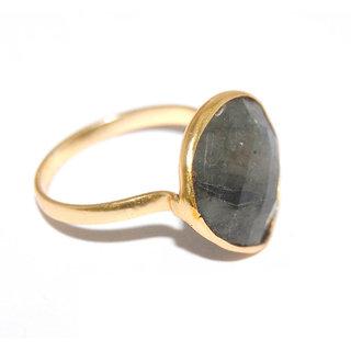 Arvino  Heart Shape Labra Brass Ring