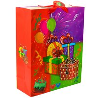 Gift Paper Bags Hand Made Fancy 3D Box