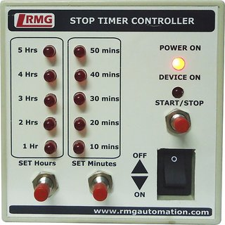 Stop Timer Controller For water pump motor operated by Switch/MCB upto 1.5 HP