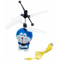 Flying Doraemon Aircraft Gesture Sensing Toy Induction Control Infrared Sensors HIGH QUALITY Bamboo Dragonfly Doremon