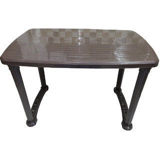 plastic foldable dining table available at shopclues for