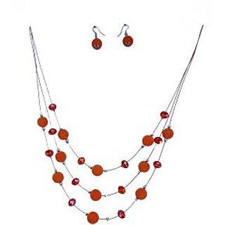 SUVI'S Multi Layer Necklace Set