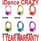 Idance Headphones Crazy With Mic On Ear Earphonedj3.5mm Like Skullcandy Jbl