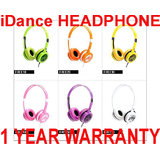 IDance Headphones FREE Lightweight With Mic, On Ear Earphone+dj Like Skullcandy