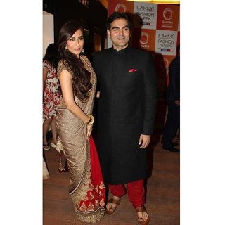 Malaika Arora Khan Style Bollywood Saree