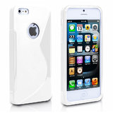 Rka S Line Tpu Gel Silicone Rubber Soft Case Cover Skin For Iphone 5 5G White