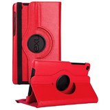 Rka 360 Degree Rotating Smart Leather Case Cover For Google Nexus 7 Tablet 2Nd Gen 2013 Red