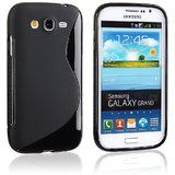 Rka S Line Tpu Gel Silicone Rubber Soft Case For Samsung Galaxy Grand I9082 Black