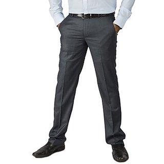 Kanva Dark Blue Formal Men's Trouser
