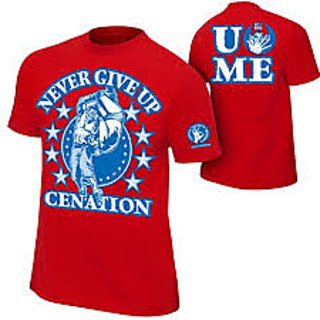 John Cena New Tshirt RED CENATION Made In India