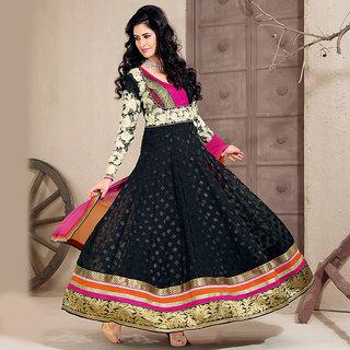 Black Anarkali Salwar Kameez Suit Design 1