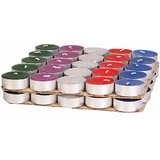 Tea Light Candle 50 Pcs Multi-Colour Hand Crafted