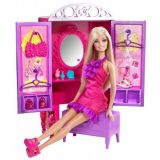 Barbie Dress Up To Make Up Closet And Barbie
