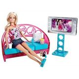 Barbie Doll And Couch