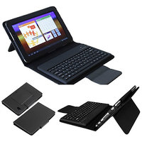 Bluetooth Keyboard Leather Case For Samsung Galaxy Tab P3100, P3110, P3113, P6200, Tab 7.0, P6210 With Free Screen Guard
