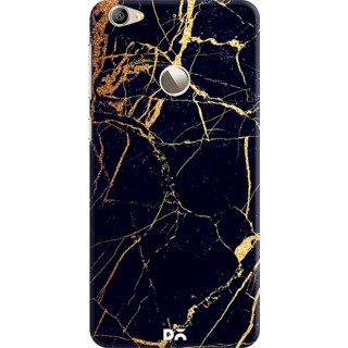 DailyObjects Black  Lava Marble Case For Letv Le 1S