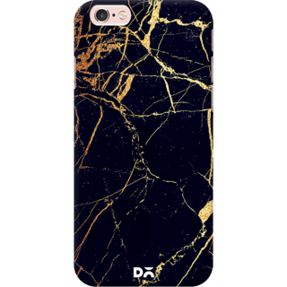 DailyObjects Black  Lava Marble Case For iPhone 6S