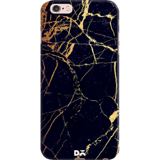 DailyObjects Black  Lava Marble Case For iPhone 6S Plus