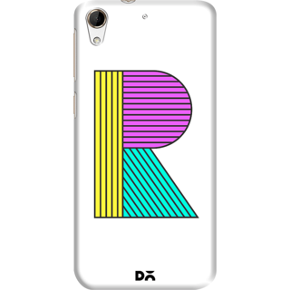DailyObjects Stylised R Case For HTC Desire 728G