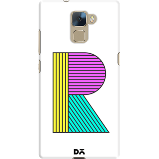 DailyObjects Stylised R Case For Huawei Honor 7