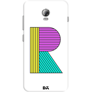 DailyObjects Stylised R Case For Lenovo Vibe P1