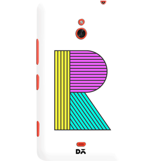 DailyObjects Stylised R Case For Nokia Lumia 1320