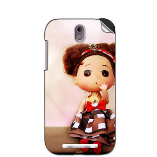 Instyler Mobile Skin Sticker For Htc Desire 500 MshtcDesire 500Ds-10062