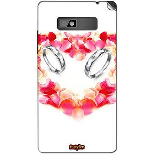 Instyler Mobile Skin Sticker For Htc Desire 600 MshtcDesire600Ds-10112