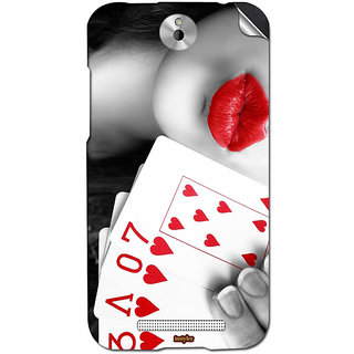 Instyler Mobile Skin Sticker For Htc Desire 501 MshtcDesire 501Ds-10106