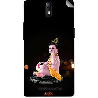 Instyler Mobile Skin Sticker For Oppo R7007 MsoppoR7007Ds-10084