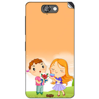 Instyler Mobile Skin Sticker For Htc One A9 MshtcOnea9Ds-10055