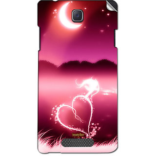 Instyler Mobile Skin Sticker For Oppo R831K Neo3 MsoppoR831Kneo3Ds-10107