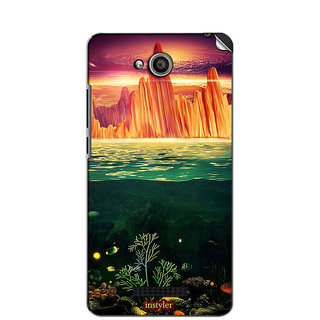 Instyler Mobile Skin Sticker For Htc Desire 616 MshtcDesire616Ds-10152