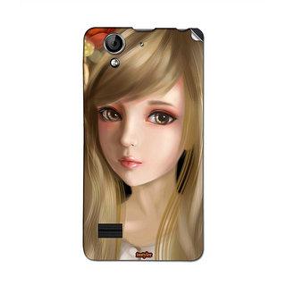 Instyler Mobile Skin Sticker For Oppo R819 MsoppoR819Ds-10068