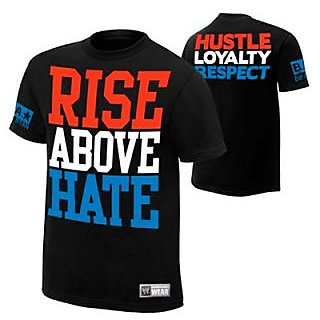 John Cena - Rise Above Hate Mens WWE T-shirt