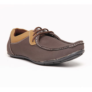 Foster Blue Brown Men's Casual Shoes - Option 2